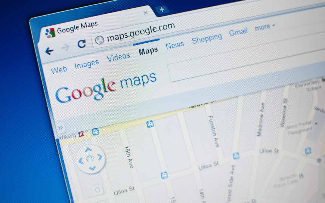 Google My Business listing for a business in Bloomington, Illinois